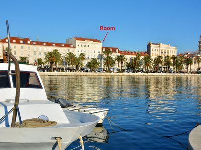 Photo for Room with the emperors view,BEST location in Split