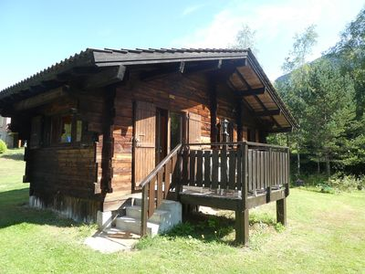 Photo for Authentic log cabin