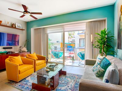 Photo for Fully Equipped, Centrally Located Condo   Pools, Gym, Romantic Zone