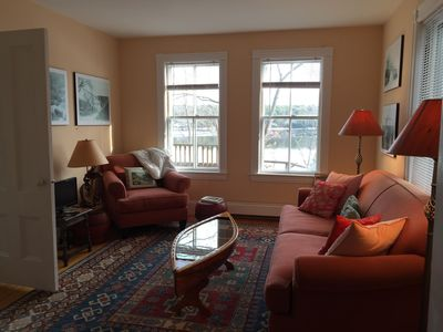 Photo for Charming Waterfront Cottage on the Kennebec River