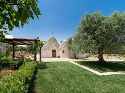 Photo for Trullo - private pool - privacy - wifi - drone tour available!