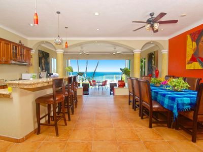 Photo for Luxury Beachfront Manzanillo Home with Separate Suites