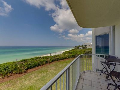 Photo for Spacious Gulf Front Condo ~ Gorgeous View ~ Located in Beautiful Seacrest Beach!