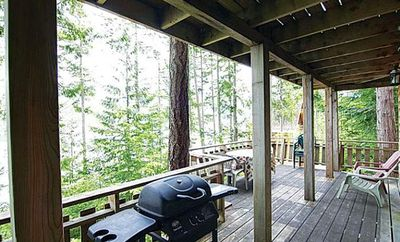 Photo for Cozy Desolation Sound Chalet - Perfect Ocean & Wildlife Getaway!