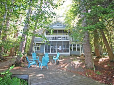 Photo for Charming and Beachy Crystal River Home in Glen Arbor Acc: 16