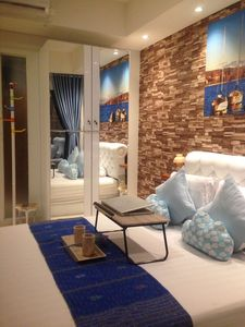 Photo for Bellevue II Green Kosambi lux studio with a great pool and city / mountain view