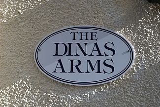 The Old Dinas Arms, now a great holiday home