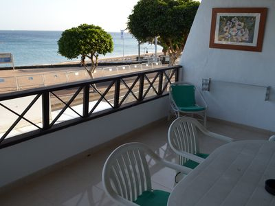 Photo for Apartament Front Line terrace with sea views, close to the beach