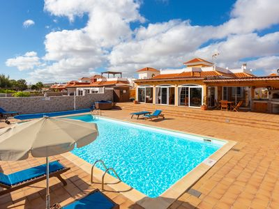 Photo for El Vergel: Large Heated Private Pool, WiFi