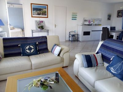 Photo for Loctudy: Single storey holiday home 300 m from the beautiful beach of Lodonnec