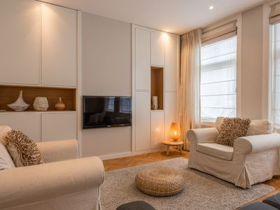 Photo for A stylish contemporary four bedroom apartment for up to four people in the heart of Amsterdam within