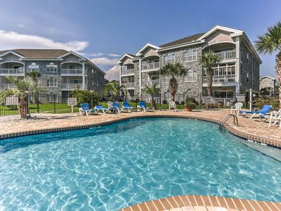 Photo for Central Myrtle Beach Condo w/ Golf Course View!