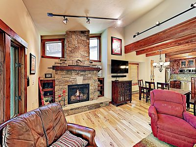 Photo for New Listing! Updated Creekside Retreat w/ Sauna & Fireplace, Near Ski Lift