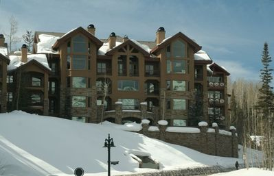 Photo for 3BR/3Ba Ski-in/Ski-out Luxury Condo in Mt Village!  Now booking for winter 2019