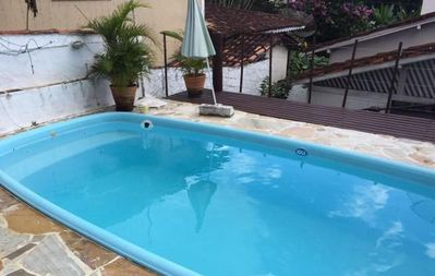 Photo for Ilha House Swimming Pool - Beautiful House just 1 km from Perequê beach in Ilhabela SP