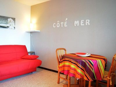 Photo for Apartment Bormes-les-Mimosas, studio flat, 3 persons