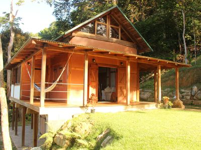 Photo for Beautiful Teak Timber Framed Cabin With Tapia (clay) Walls