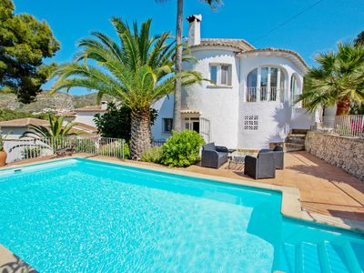 Photo for La Tour - pretty holiday property with private pool in Moraira