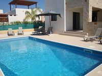 A spacious villa with a big pool and great location