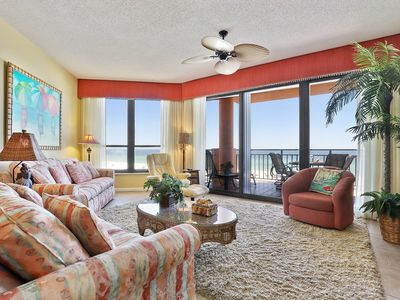 Photo for 402E - Only steps to the sand in this 2BR/2BA condo