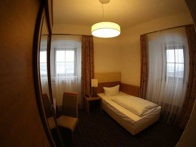 Photo for Single Room Superior - Burghotel Veste Wachsenburg