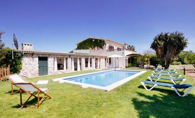 Photo for Villa With Private Pool And Views Of Tramuntana Mountains