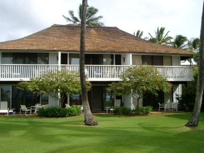 Photo for Kiahuna Plantation Oceanfront Renovated Best Location Ground floor
