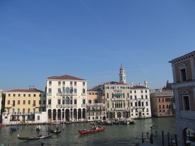 Photo for Overlooking the Grand Canal, a small loft on two levels