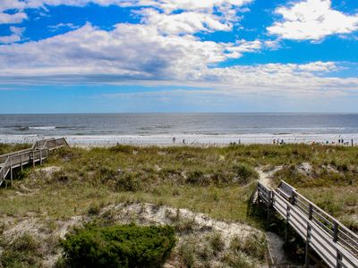 Photo for JUNE DEAL!  $500 OFF WEEK OF 6/22-6/29! Perfect for large families! Oceanfront 6 Bedroom 6 Bath Private Home. Private walkway to beach!  Peaceful!