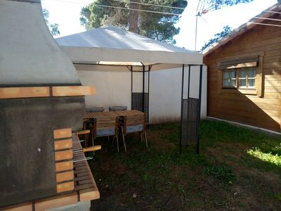 Photo for Wooden house in La Barrosa