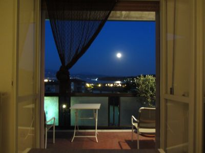 Photo for Enchanted evening at the sight of the reflection of the moon on the lake
