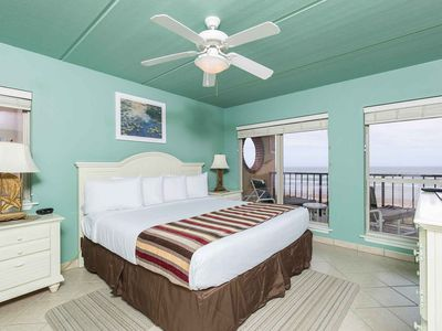 Photo for Suntide II 401 - Beachfront Direct Ocean Views, Private Balcony, Heated Pool, Hot Tub, Beach Access, Walking distance to Dining and Shopping