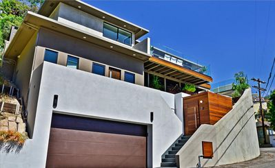 Photo for Modern Masterpiece In Sunset Plaza Drive With Jet-Liner City Views