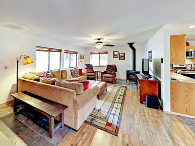 Living Room - Welcome to South Lake Tahoe! Your mountain home is professionally managed by TurnKey Vacation Rentals.