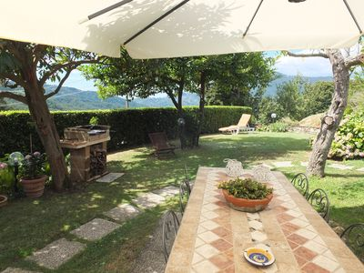 Photo for In the green hillsides of Versilia for a relaxing stay.