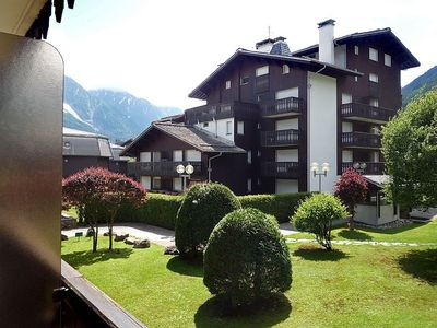 Photo for Apartment in the center of Chamonix with Lift, Parking, Internet, Washing machine (102643)