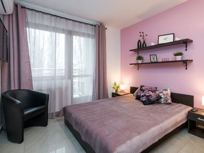Photo for PINK! 1bdr apartment in the very heart of Krakow