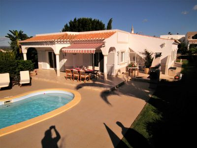 Photo for Detached Villa with air conditioning, private pool for 6 people