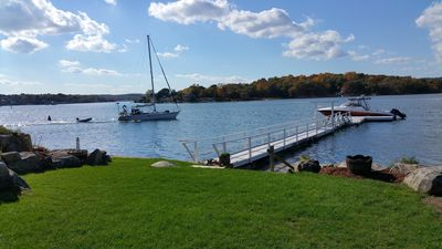 Buoy 23 Private Deep~Water Dock accommodates a boat up to 30ft LOA