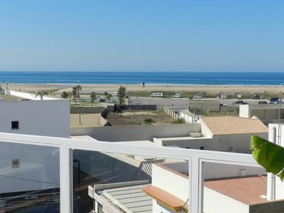Photo for Air-conditioned Apartment with Seaview, Pool, Terrace, and Wi-Fi