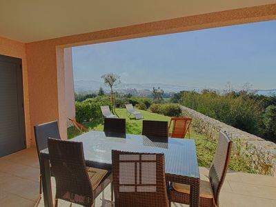 Photo for PORTICCIO-Very nice apartment with garden F3- The mas of the sun