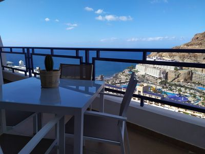 Photo for Amazing ocean view apartment in Taurito, Mogán