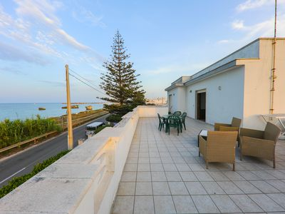 Photo for Attic in villa by the sea. On the first floor with private terrace