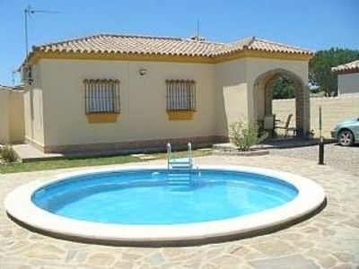 Photo for Villa with private pool, not overlooked, free wifi, aircon is available.