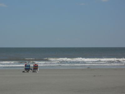 Photo for Pet Friendly With Walk to Beach! Private, Quiet Retreat! Access to Pool