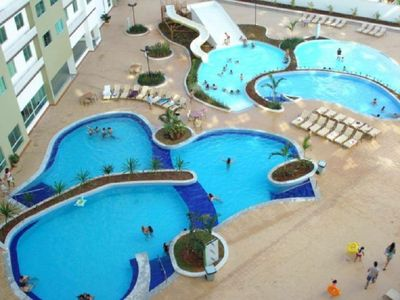 Photo for It features 14 hot and cold pools, water park 24 hours, sauna, gym.