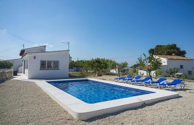 Photo for CASATI, villa with private pool, in the hills of Benissa