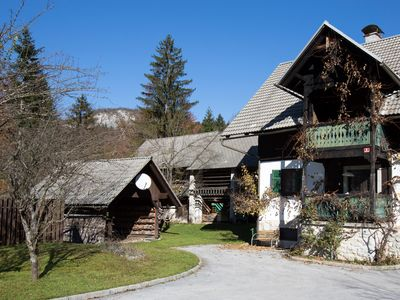 Photo for LARGE HOUSE ON THE SAVA RIVER, 10 MINUTES WALK TO LAKE BOHINJ