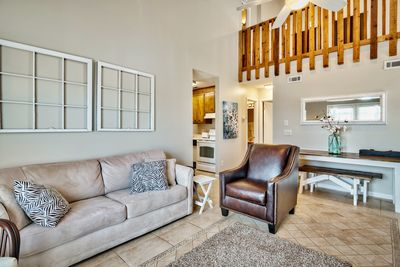 Living Room - Welcome to Panama City Beach! This comfortable home is professionally managed by TurnKey Vacation Rentals.