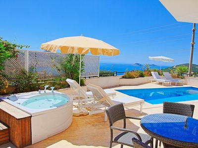 Photo for Villa Ela: Stylish villa with lovely pool and Kalkan sea views